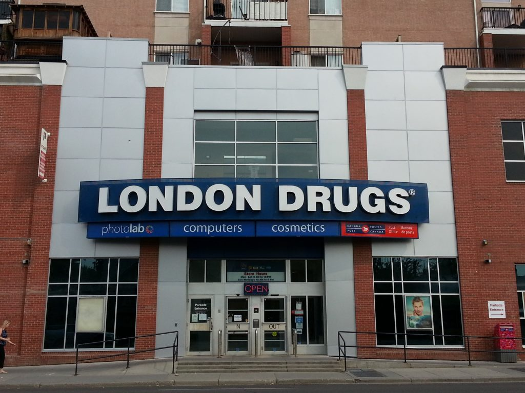 London Drugs Renovation